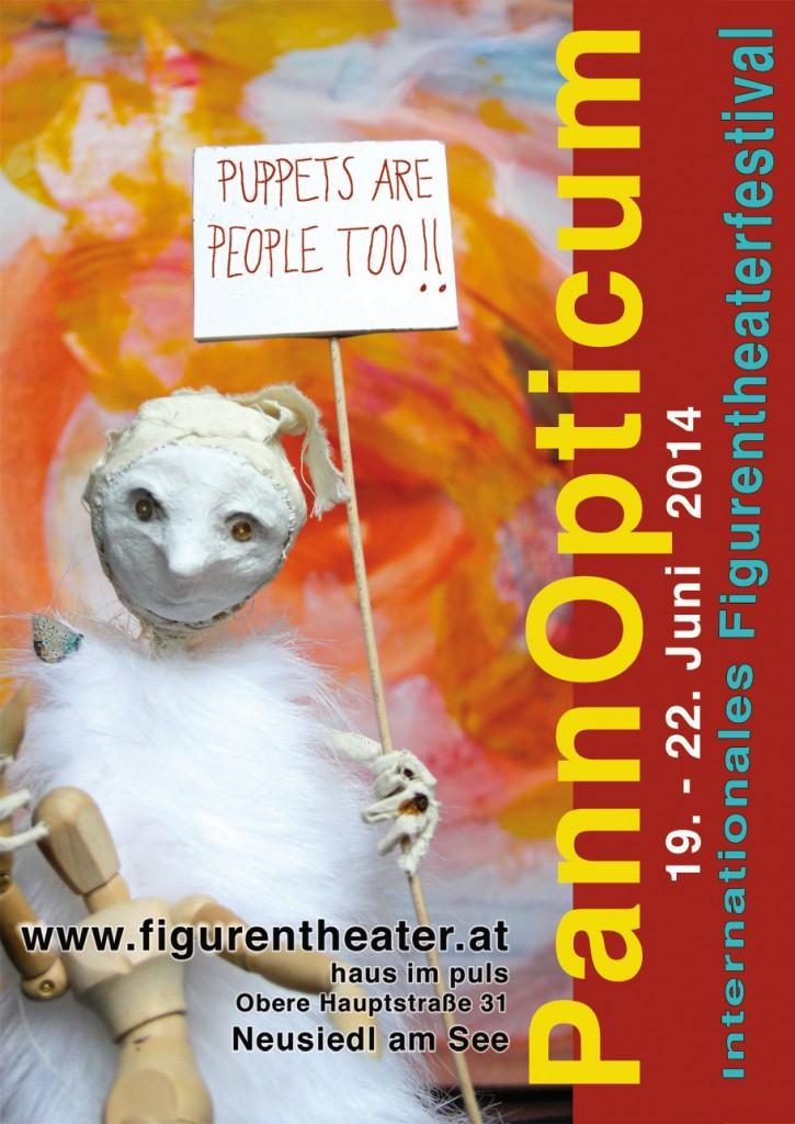 Plakat / Poster Festival PannOpticum 2014